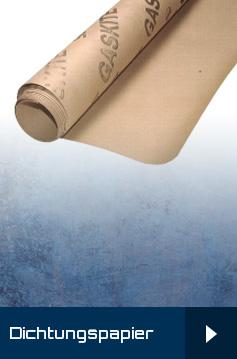Dichtungspapier - Flanschdichtungen - Flachdichtungen / Dichtungspapier