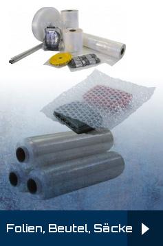 Stetchfolie, Handabroller, Gleithülsen, Palettenabdeckblätter