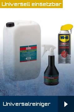 Universalreiniger, Kaltreiniger, reinigen, entfetten, Reinigungsprodukte, Werkstattmterial