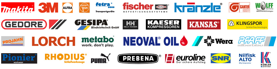 Renommierte Hersteller, die Sie in unserem Online-Shop finden