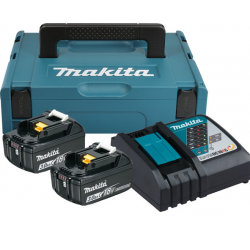 MAKITA Power Scource Kit 2 Akkus 3 Ah